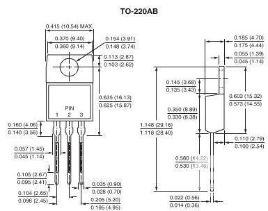 MOS管TO-220封装