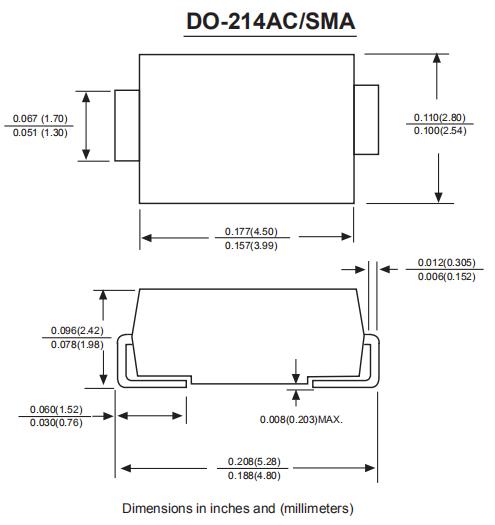 SS5200肖特基二极管参数