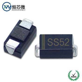 SS52肖特基二极管参数