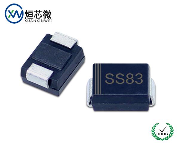 SS83肖特基二极管