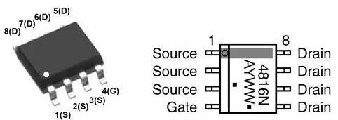 寄生二极管,二极管方向怎么判断
