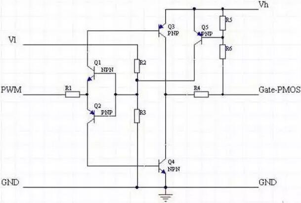 mosfet驱动,双电压mosfet驱动电路
