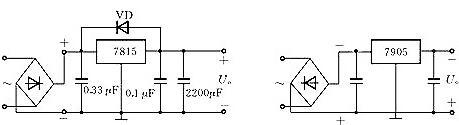 78L05引脚图