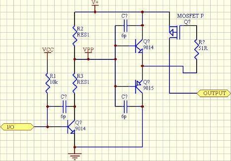 5V单片机驱动mos管电路