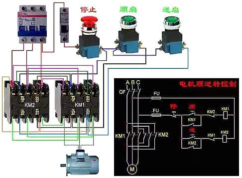 三相异步电动机接线图