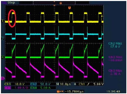 开关电源,开关电源各种波形