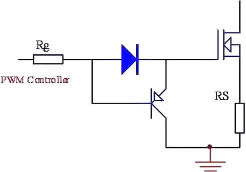 MOSFET栅极,驱动电路,PNP