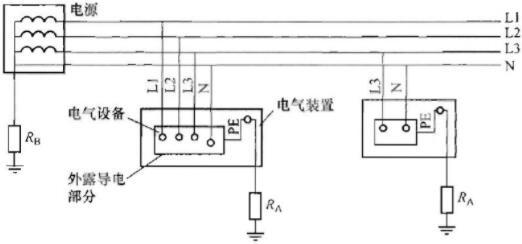 380三相4线电表接线图
