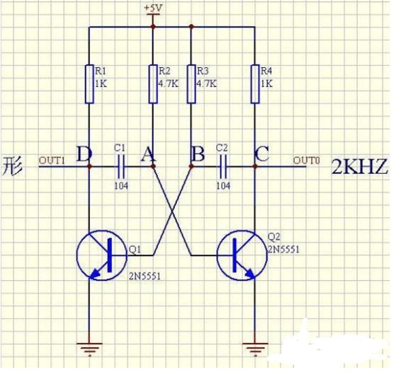 贴片三极管振荡电路基本原理