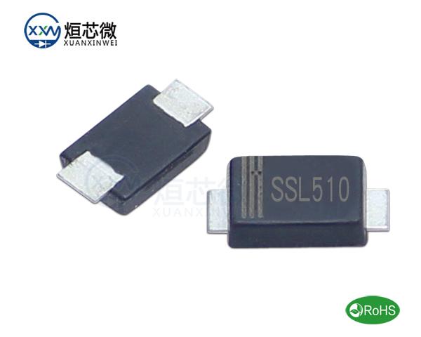SSL510低压降肖特基二极管参数