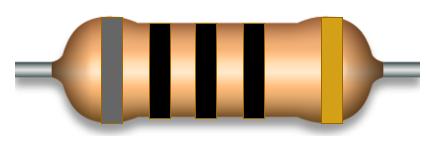 五色环电阻